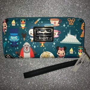 New Disney Parks loungefly wallet